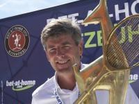 Der eigentliche Sieger schon vor dem Endspiel: Tennispräsident Herbert Günther