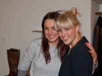 Aus dem Frauenschuh-Team: links Elisabeth und Sophia