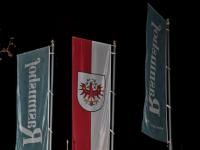 Der Rasmushof zeigt Flagge