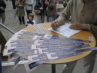 Auslosung in Kitzbühel: Die Karten sind gemischt; Foto: GEPA