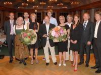 Strahlende Gesichter bei den Gesamtsiegern und den Hoteliers nach dem Golffestival; Copyright: HPR/Brunnthaler