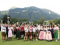 Dresscode Traditionell: Beim legendären Andreas-Hofer-Turnier spielten die Teilnehmer in Tracht; Copyright: HPR/Brunnthaler