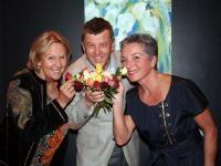 Rima Wurzenrainer, Dr. Horst Wendling, Dorothea Pfannenstein (Kitzbühel TV); Foto: Pipal