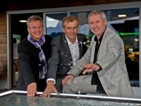 Josef Sausgruber, Franz Hechenbichler, Norbert Bergmann: Troika für Premium