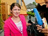 """Kamerafrau Christine Glöckner, Kufstein: """"Erst die Arbeit, dann das Essen"""""""