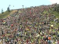 10.000 Fans erwandern mit Hansi alljählich den Hahnenkamm