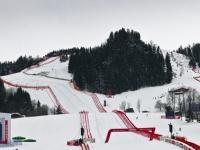 Super-G am Freitag wegen starkem Schneeregen und Nebel abgesagt; Photo by: Rolex /Kurt Arrigo