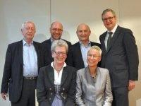 v.li.: Burghart Schmidt, Peter Daniel, Ali Rahimi, Richard Hauser, Gexi Tostmann, Anita Natmeßnig; Foto: KCC