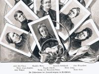 Frauenbewegung 1849 Forderung: Kindergarten, Höhere Schule und ungeingeschränktes Hochschulstudium