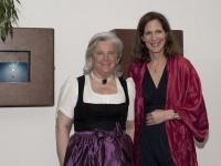 Signe Reich, Kitzbühel Tourismus Präsidentin (links) Margarete Klingler