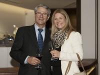 Der ehemalige Vizebürgermeister von Innsbruck, DI Eugen Sprenger mit Tochter Daria
