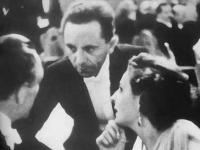Filmball Berlin: Josef Goebbels, Leni Riefenstahl, Luis Trenker Luis Trenker, LT Archiv:  Kitzbühel