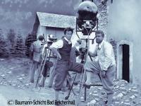 """Der Rebell"" (1932) Universal Pictures, rechts Aufnahmeleiter Hugo Lehner,  Foto Luis Trenker Archiv Kitzbühel"