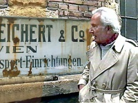 Florian Trenker auf den Spuren seiner Mutter, Leipzig Gohlis 1990 Foto: Luis Trenker Archiv, Kitzbühel