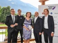 Foto: Standortagentur vL. Harald Gohm, Stefan Sinnegger, LRin Patrizia Zoller-Frischauf, Bernhard Sagmeister, Harald Oberrauch